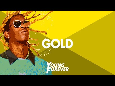 """Young Thug Type Beat 2016 - """"Gold""""   Young Forever Beats"""