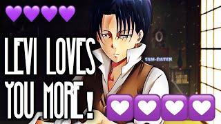 (Captain Levi X Listener) ||| ANIME ASMR ||| ?But Levi Loves You More?
