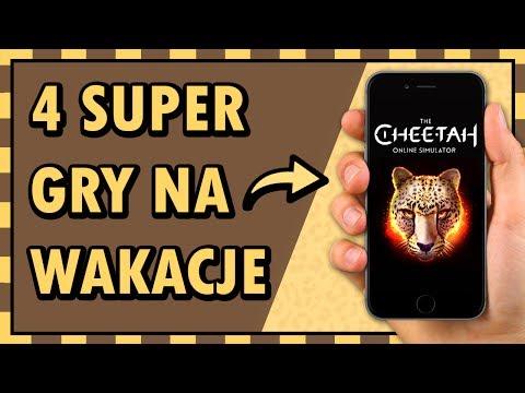 ☀️ 4 SUPER GRY Na Telefon NA WAKACJE ☀️ (w Tym NAJLEPSZY SYMULATOR)