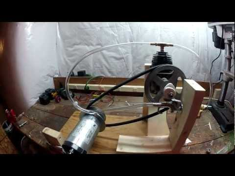(DIY) Steam Powered Electric Generator Part 1