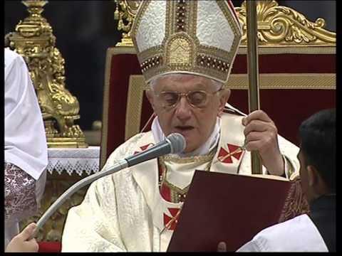 Pope Benedict XVI Ordination priests 05 03 2009