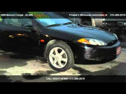 1999 Mercury Cougar V6 - for sale in Des Moines, IA 50313