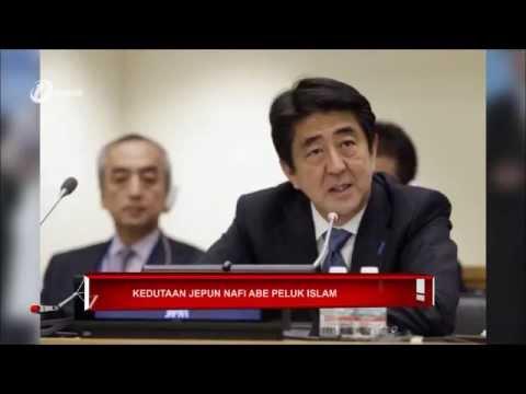 Perdana Menteri Jepun Memeluk Islam? Kedutaan Jepun Nafi Shinzo Abe Peluk Islam