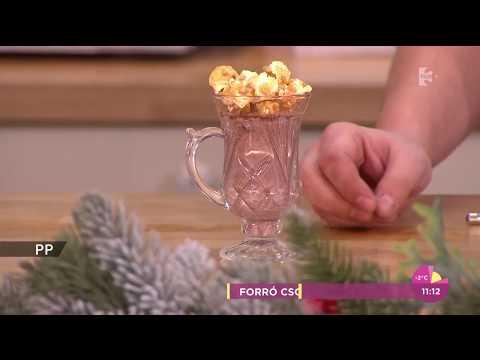 Szuperfinom karácsonyi ital: Fahéjas forrócsoki karamellás popcornnal - tv2.hu/fem3cafe