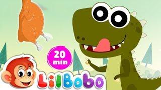 Types of Dinosaurs  - Educational Nursery Rhymes for Children | Little BoBo - FlickBox Kids
