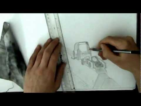 ACR - Speed Drawing (First Person) ((Read Desc))