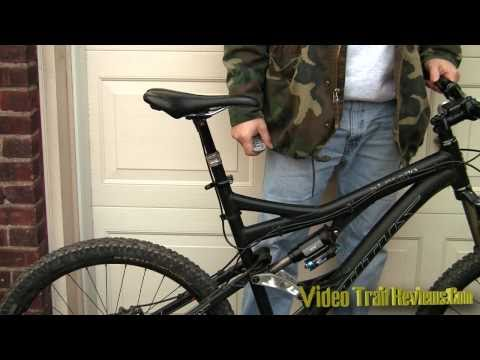 Rock Shox Reverb adjustable seat post review in HD