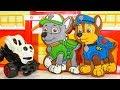 Щенячий патруль Игрушки Спиннер Превращение Видео для детей Мультики Paw Patrol toys video Spinner