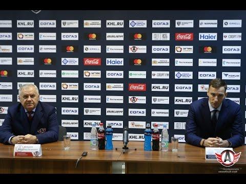 Пресс-конференция: Автомобилист - Адмирал, 28.11.2016