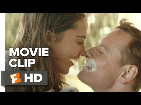 The Light Between Oceans Movie CLIP - Shave (2016) - Alicia Vikander Movie