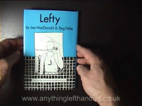 Lefty Book - Being left-handed, difficulties and frustrations