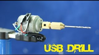 How to make a very simple USB Drill