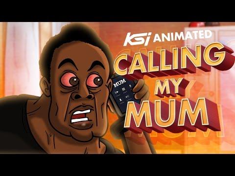 CALLING MY MUM!! - KSI Animated #4
