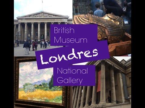 Vlog Londres - British Museum e National Gallery