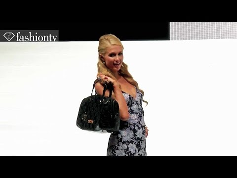 Paris Hilton Handbags & Accessories Fashion Show | FashionTV