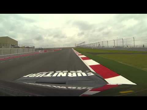 POV: Kurt Busch in V8 Supercar, James Courtney drives Kurt's NASCAR ride (COTA)