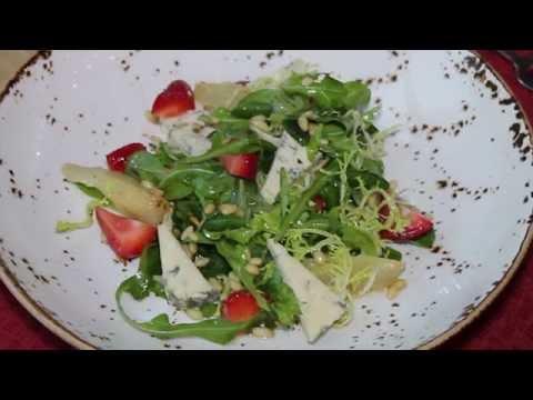 Салат от шеф повара с ананасом