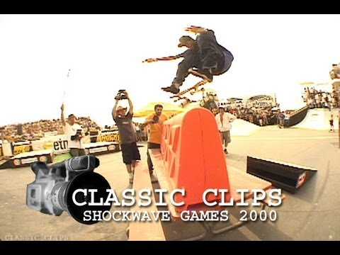 Ryan Sheckler Mini Mega Ramp Shockwave Games 2000 Skateboard Contest