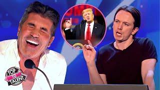 Impersonator DONALD TRUMP Make Judges Can't Stop Laugh | Britain's Got Talent