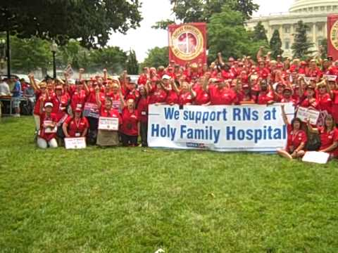 Staff Nurse Assembly, Washington D.c. 2011 video