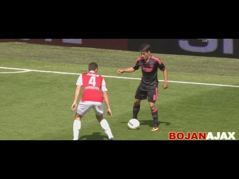 Bojan Krkic vs AZ Alkmaar HD 1080P 11/08/2013