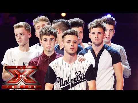 New Boy Band sing Leona Lewis' Run | Boot Camp | The X Factor UK 2014