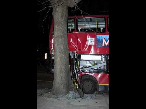 Bus Crashes in The London Area
