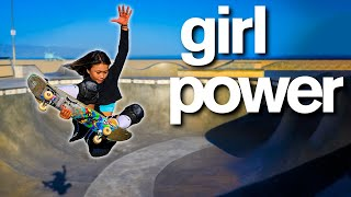 Skateboarder is World's Youngest Olympian | Sky Brown