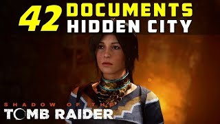 Location of Documents in Hidden City - SHADOW OF THE TOMB RAIDER