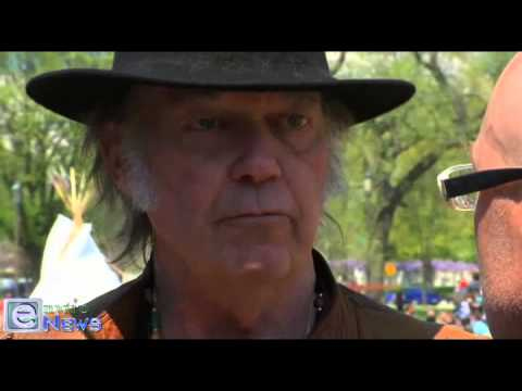 Neil Young on Climate Change, Keystone XL and Tar Sands