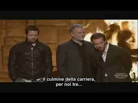 Spike Tv Guy Award - Fincher, Norton, Pitt Sub Ita