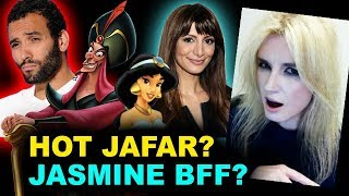 Aladdin Live Action - Marwan Kenzari is Jafar, Nasim Pedrad is Mara