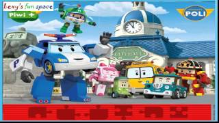 Poli Robocar Gather Friends \ Поли Робокар Собери Пазл