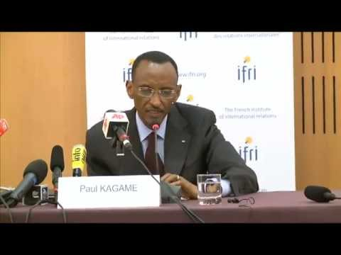 President Kagame delivers key remarks at French Institute of Foreign Relations in Paris