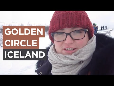 Living in Iceland - Week 5: The Golden Circle - Gullfoss + Geysir, Ice Skating | Sonia Nicolson