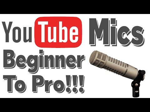My Mics: YouTube Microphones From Beginner to Pro (Brief Reviews & Audio Samples)