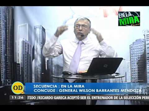 GENERAL  BARRANTES EN ONDA DIGITAL TELEVISION  EN LA MIRA