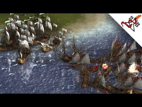 Cossacks 3 - 6P FFA INSANE NAVAL BATTLES & INVASIONS | Multiplayer Gameplay