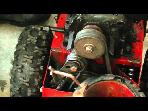 4HP Noma Snowblower Auger Gear Box Repair Part 3/3