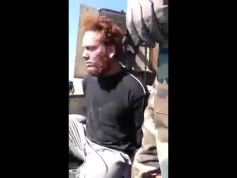 ISIS jihadist Captured by Peshmerga forces in Zumar clashes 25.10.2014 Mosul