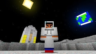 GOING TO THE MOON in MINECRAFT??!