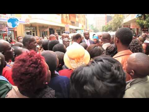 Prophet Owuor's afternoon shopping causes a stir in Nairobi CBD