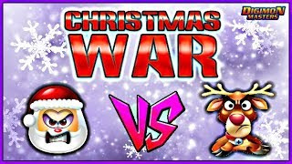 CHRISTMAS WAR 2018 || Christmas Events in Digimon Masters Online!!! (KDMO)