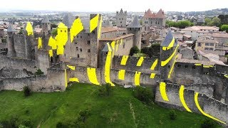Some Dude Painted this French Castle YELLOW!?!