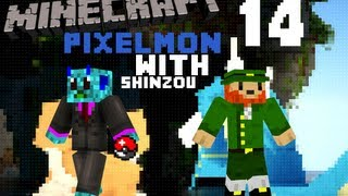 "Pixelmon-Minecraft Mod w/Shinzou- Episode 14 ""Second POKEMON!"""
