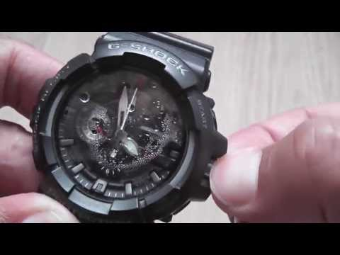 How to remove water from the inside of a watch