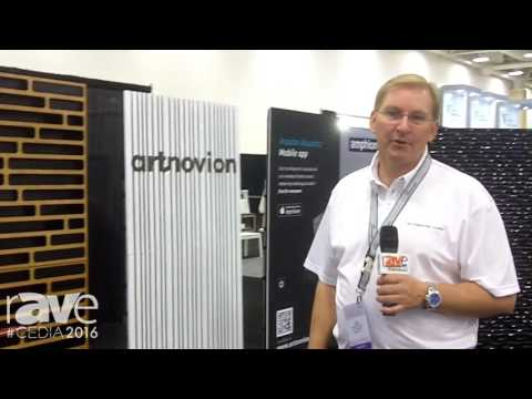 CEDIA 2016: Rutherford Audio Displays Acoustic Panels and Talks About Impulso Acoustics Mobile App