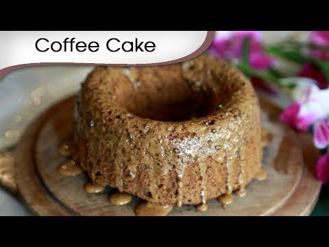 Coffee Cake - Tea Time Dessert Recipe - Christmas Special Cake Recipe By Annuradha Toshnwal [HD]