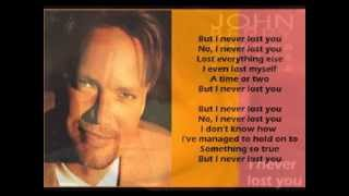 Watch John Berry I Never Lost You video