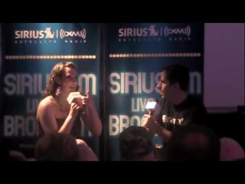 Natalie Weiss on Seth Rudetsky's Radio Show Part 1 of 2